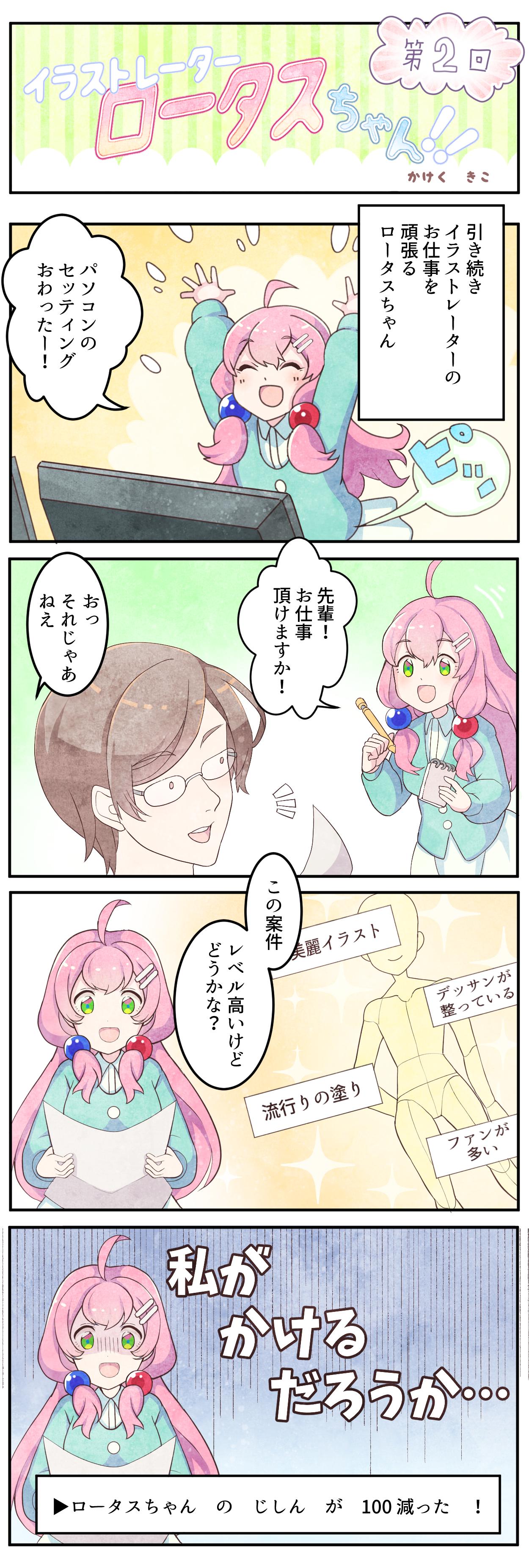 イラストレーターロータスちゃん!!第2回かけく きこ